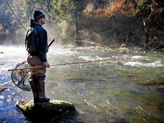 Nehalem River. Oregon.