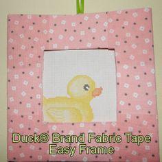 Easy Duck® Brand Craft Tape Frame #DuckCraftTape