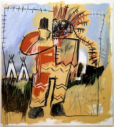 From Basquiat's First NYC show at Annina Nosei Nyc, Milano, Painting, Artists, Paintings, Draw, Drawings, Artist