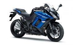 Kawasaki Ninja 1000, 2017, sport bike, blue Kawasaki, Japanese motorcycles