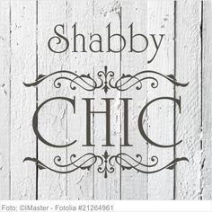 Möbeltattoo Shabby Chic - Shabby Chic m. Wand Tattoo, My Happy Place, Wands, Stencils, The Past, Shabby Chic, Ornament, Printables, Graphics