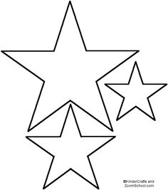 Lincoln Penny Pendant Star Template - EnchantedLearning.com