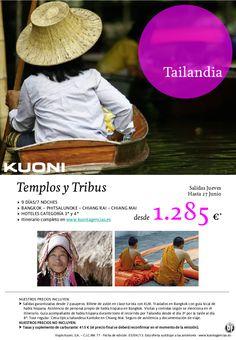 Tailandia Templos y Tribus - 9 días/7 noches desde 1.285 € - http://zocotours.com/tailandia-templos-y-tribus-9-dias7-noches-desde-1-285-e/