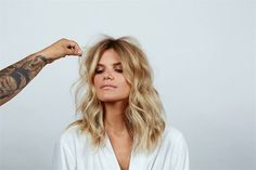 HOW-TO: Loose Undone Beach Waves - Career - Modern Salon