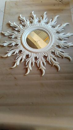 Ra frame Wood Carving Designs, Wood Carving Art, Styrofoam Art, Decorative Room Dividers, Wedding Stage Design, Clay Wall Art, 3d Cnc, Sunburst Mirror, Mirrored Furniture