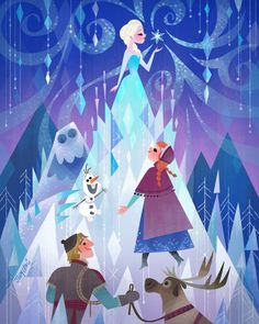 Frozen Artwork by Joey Chou