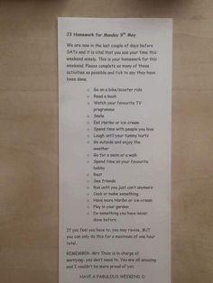 Teacher Gives Unheard Of Homework Assignment That Goes Viral, Promotes Work-Life Balance. Teacher Gives Unheard Of Homework Assignment That Goes Viral, Promotes Work-Life Balance. Teacher Gives. Kids Homework, Homework Ideas, Primary School Teacher, Sats, How To Speak Spanish, Learning Spanish, Spanish Class, High School Students, Best Teacher