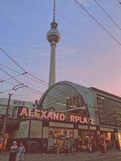 Alexanderplatz Berlin, Germany at sunset. Berlin City, Berlin Wall, Berlin Travel, Germany Travel, Berlin Photos, City Vibe, Luxor Egypt, Travel Design, Travel Aesthetic