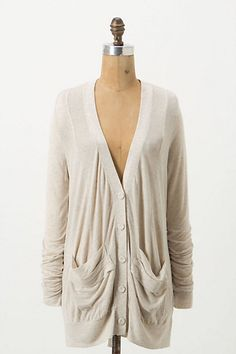 *Love* this cardigan, and the cute back (this would look so cute with a bright t-shirt, and jeans). Bonus - it's on sale, with an extra 25% off today! Pivot Cardigan #anthropologie