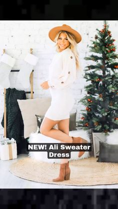 THE dress for the holidays! No matter how you celebrate this year, this dress will have you felling as good as you look!