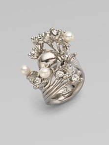 Alexander McQueen ring I need this in my life!