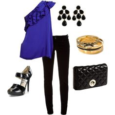 Date night outfit w/ Kate Spade accessories