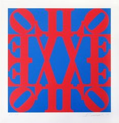 72efe2c98 Bid now on GREAT Love by Robert Indiana. View a wide Variety of artworks by  Robert Indiana, now available for sale on artnet Auctions.