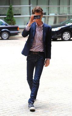 Andrew Garfield,Men's CELB style