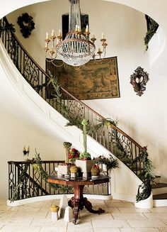 I really adore this spiral staircase.