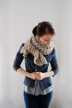 Knoxville Scarf  but I love the whole look