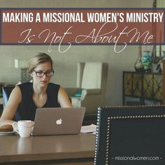 "Tweet Email This month I'm over at Missional Women with another post in my series on ""Making Women's Ministry Missional."" In my first post, I talk about conquering spiritual apathy in your ministry. Today, I've outlined some practical steps to help you cast a discipleship vision. How many new disciples did your women's ministry produce [...]"