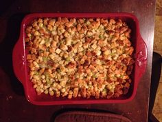 Easy stuffing recipe!! I love stuffing!