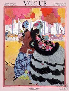 Helen Dryden's Art Deco Fashion Drawings...Vogue 1921