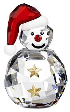 """$55.00-$55.00 S1005414: SWAROVSKI CRYSTAL FIGURINE ROCKING SNOWMAN, NEW 2009 - Swarovski Rocking Snowman, Reference #1005414. Brand New, Mint Condition in Original Box with the certificate of authenticity. Retail Price is $50.00. Dimensions: 1 x 1.55"""" inches. http://www.amazon.com/dp/B002OI7WXY/?tag=pin2wine-20"""