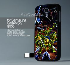 Teenage Mutant Ninja Turtle, For Samsung s4 Hard Plastic Black | YourCazeMate - Accessories on ArtFire