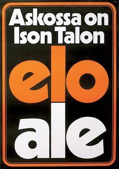 Askossa on Ison Talon elo ale - Askon vanha mainos Old Ads, Ale, Nostalgia, Company Logo, Logos, Ale Beer, Logo, Old Advertisements, Ales