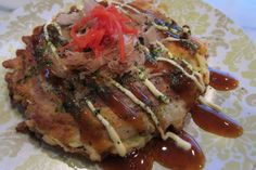 Okonomiyaki – Japanese Savory Pancake, Osaka Style