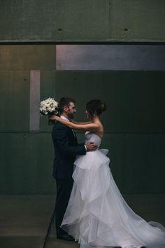 Karen Willis Holmes 'Prea' gown + 'Selena' overlay