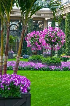 Beautiful LongWood Gardens in Kennet Square, PA.