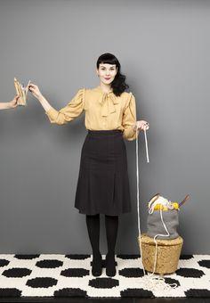Molla Mills promo picture by Saara Salmi, 2014.