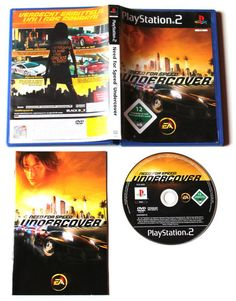 Need For Speed: Undercover für Playstation 2 in OVP!