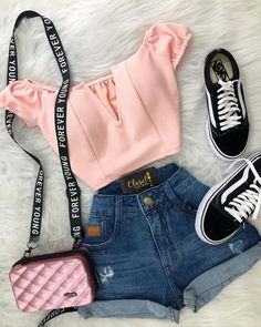 Clueless Outfits, Teenage Girl Outfits, Teen Fashion Outfits, Mode Outfits, Outfits For Teens, Girl Fashion, Cute Comfy Outfits, Cute Girl Outfits, Cute Summer Outfits