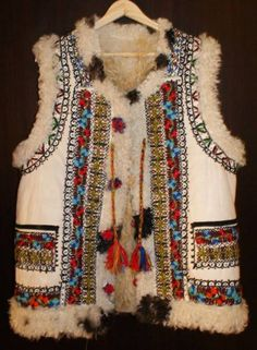 Popular Costumes, Cool Jackets, Tribal Fashion, Folk Costume, Folklore, Traditional Outfits, Boho Chic, Ethnic, Vest