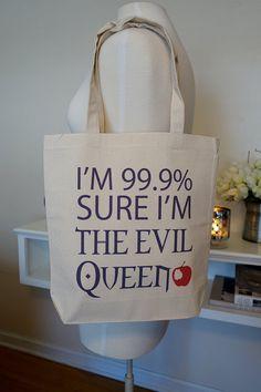Böse Königin Eveil Queen Stoffbeutel Bösewicht von rachelwalter