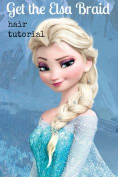 Quick and easy hair tutorial. Get braids like Elsa from #Frozen