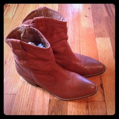 Cowboy/cowgirl Boots Worn once to a concert. Excellent condition. ALDO Shoes Ankle Boots & Booties