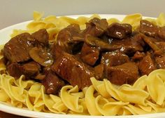 Another plus is that this meal can be made in about 20 minutes. Serve with a nice tossed salad, and you have a complete meal! Serves 4 (about 3/4 c. beef mixture and 1/2 c. egg noodles = 9 points+) Ingredient • 2 c. uncooked egg noodles • 1 lb. sirloin steak, cut into cubes …