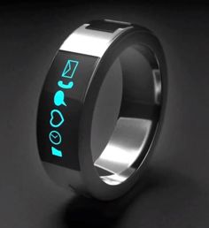smarty ring Smarty Ring, the high tech ring connected Gadgets Geek, High Tech Gadgets, Gadgets And Gizmos, Latest Gadgets, Electronics Gadgets, New Technology Gadgets, Futuristic Technology, Cool Technology, Technology Definition