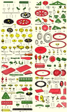 Meccano Parts - the Online Parts Museum