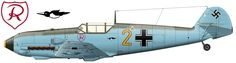 Messerschmitt Bf 109E-3 from the 3./JG 2 that from January to mid-June 1940 was personal mount of Major Helmut Wick .