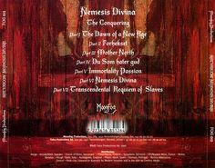 Caratula Trasera de Satyricon - Nemesis Divina
