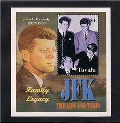 John F Kennedy JFK Stamps Sheet