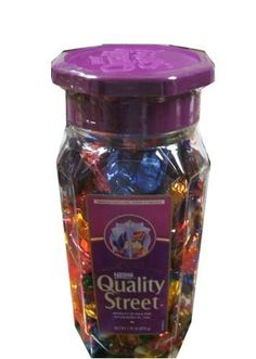 Nestle Quality Street Christmas Hanukkah New Years Holiday Gift Assortment 1.91 Pound Container