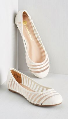 Awesome 60 Cutest Collection of Flat Wedding Shoes | GirlYard.com ...