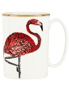 cool flamingo mug