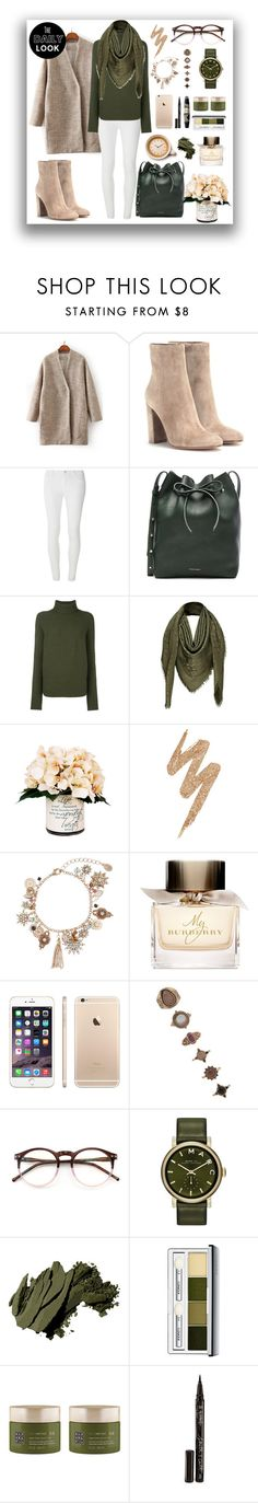 """Untitled #431"" by mayer-fruzsina ❤ liked on Polyvore featuring Gianvito Rossi, Dorothy Perkins, Mansur Gavriel, Christian Wijnants, Louis Vuitton, Creative Displays, Urban Decay, Accessorize, Burberry and Forever 21"