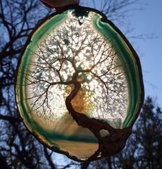 Gold Wire Tree Of Life Metal Wall Art by TheWhisperingWillow, $55.00