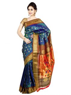 Sarees Online Shopping | Traditional Sarees Online | OnlyPaithani