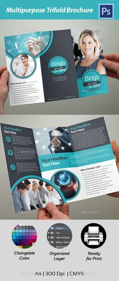 Trifold Brochure - Corporate Flyers
