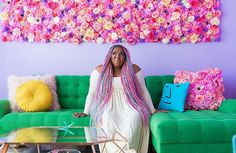 This Woman Has The Most Colorful Apartment You've Ever Seen And Even Unicorns Are Jealous | Bored Panda